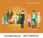 detailed most famous world... | Shutterstock .eps vector #407230522