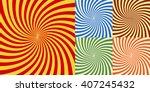 swirl stripes illustration of... | Shutterstock . vector #407245432