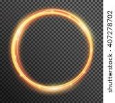 vector fire sparkle spiral wave ... | Shutterstock .eps vector #407278702
