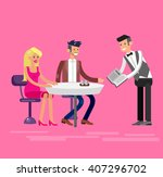 vector detailed character... | Shutterstock .eps vector #407296702