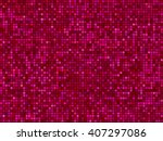 abstract light color pixel... | Shutterstock .eps vector #407297086