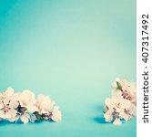 flower. floral spring leaf.... | Shutterstock . vector #407317492