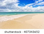 Tropical Sand Beach In...