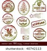 vector set  detailed vintage...   Shutterstock .eps vector #40742113