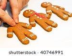 Decorating Gingerbread Man