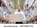 wholesale  logistic  business ... | Shutterstock . vector #407486752