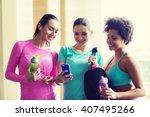 fitness  sport  training  gym... | Shutterstock . vector #407495266