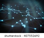 abstract geometry surfaces ... | Shutterstock . vector #407552692