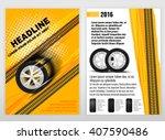 vector automotive portrait... | Shutterstock .eps vector #407590486