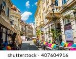bucharest  romania   july 20 ...   Shutterstock . vector #407604916