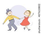 vector illustration of the...   Shutterstock .eps vector #407610802