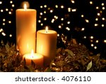 candlelight  with defocussed... | Shutterstock . vector #4076110