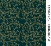 koi chinese carp seamless... | Shutterstock .eps vector #407645398
