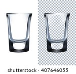 shot glass. vector illustration | Shutterstock .eps vector #407646055