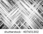 abstract grey fractal...   Shutterstock . vector #407651302