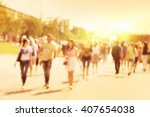 abstract blurred image of...   Shutterstock . vector #407654038