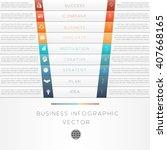 vector illustration template of ... | Shutterstock .eps vector #407668165