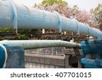 japanese old water pipe | Shutterstock . vector #407701015
