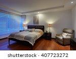 interior design  big modern... | Shutterstock . vector #407723272