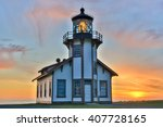 Sunset Over Point Cabrillo...