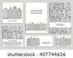 Hand Drawn House  Card Templat...