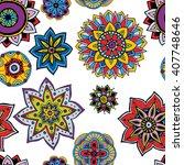 seamless pattern texture.... | Shutterstock .eps vector #407748646
