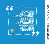 inspirational motivational... | Shutterstock .eps vector #407790736
