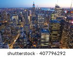 new york city   april 1 ... | Shutterstock . vector #407796292