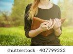 bible outdoors   Shutterstock . vector #407799232