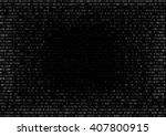 round gradient fall off binary...   Shutterstock .eps vector #407800915