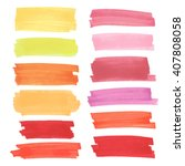 color  highlight  stripes ... | Shutterstock .eps vector #407808058