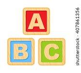 abc blocks. wooden alphabet...