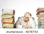 businessman appears to be...   Shutterstock . vector #4078753