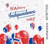svalbard and jan mayen... | Shutterstock .eps vector #407877535