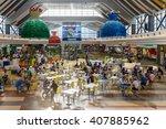 bucharest  romania   may 12 ... | Shutterstock . vector #407885962