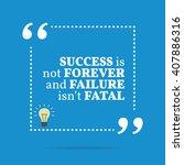inspirational motivational... | Shutterstock .eps vector #407886316