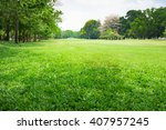 image view of park using as... | Shutterstock . vector #407957245