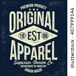 Vintage Typography  T Shirt...