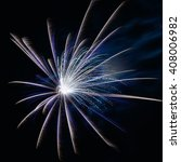 close up colorful fireworks for ... | Shutterstock . vector #408006982