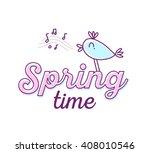 vector illustration for spring...