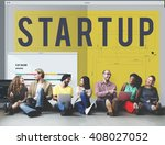 startup creative design...   Shutterstock . vector #408027052