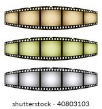 vector illustration of film | Shutterstock .eps vector #40803103