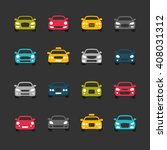 car icons | Shutterstock .eps vector #408031312