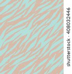 zebra  tiger stripes seamless... | Shutterstock .eps vector #408032446
