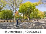 new york  usa   oct 21  2015 ... | Shutterstock . vector #408033616