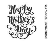 brush lettering composition.... | Shutterstock .eps vector #408047545