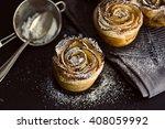 Mini Apple Roses Puff Pastry...