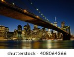 new york city skyline   nyc | Shutterstock . vector #408064366