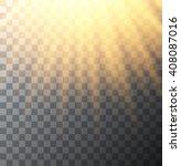 vector modern sun on... | Shutterstock .eps vector #408087016