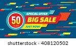big sale abstract vector... | Shutterstock .eps vector #408120502